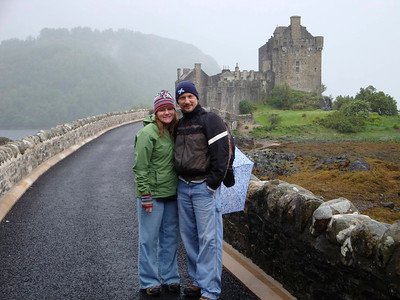 Me and John at Eilean Donan Castle  http://www.eileandonancastle.com/