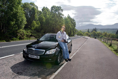 John and the Mercedes