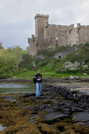 John at Dunvegan Castle