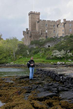 John at Dunvegan Castle