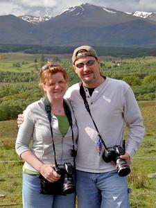Me and John on our way to Skye.