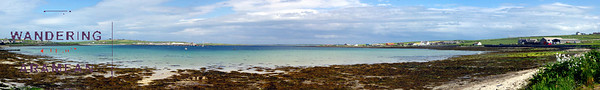 Pierowall, Westray: Island beaches and castles