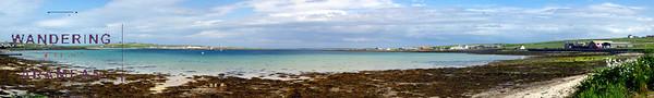 Pierowall, Westray: Island beaches and castles