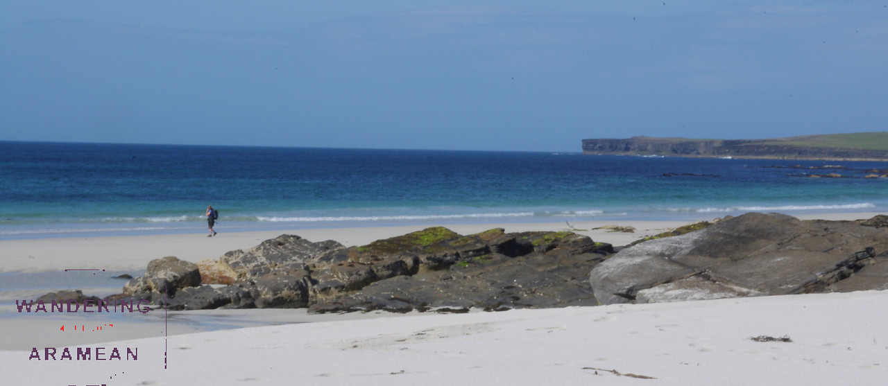 A beautiful beach on the northwest side of Westray