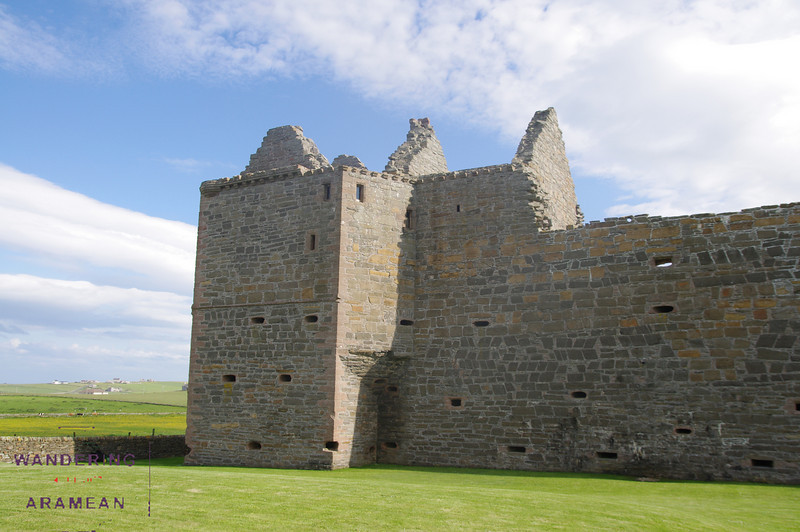 Noltland Castle from the outside