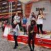 Edinburgh - more performers from the Fringe Festival.
