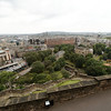 Edinburgh Castle - another view of the city.