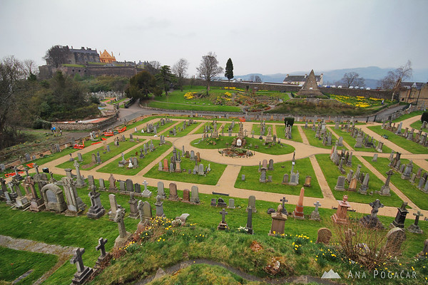 Stirling Castle graveyard