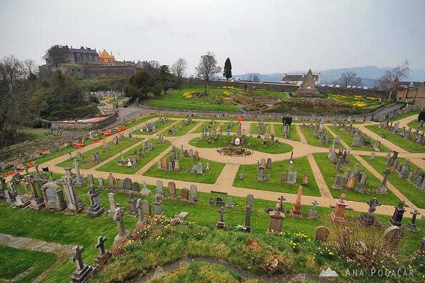 Stirling Castle graveyard