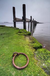A pier in Culross