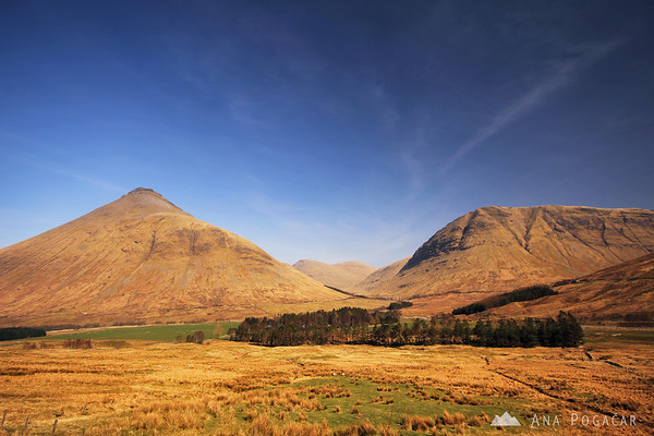 On the way to Glencoe