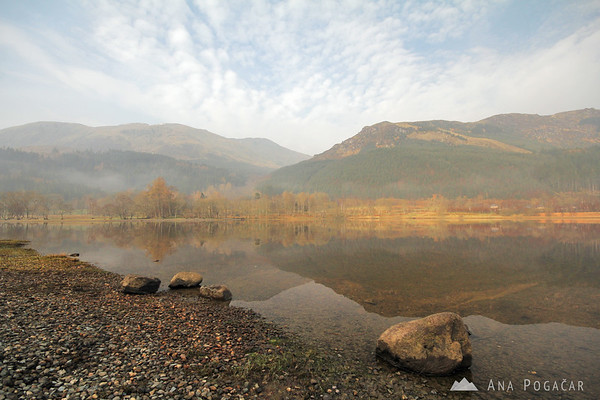 Loch Lubnaig in the morning