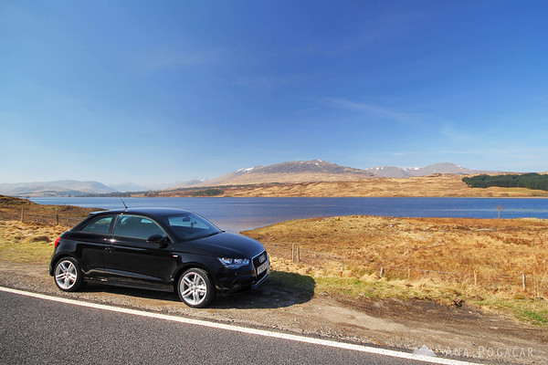 Rannoch Moor and my Audi