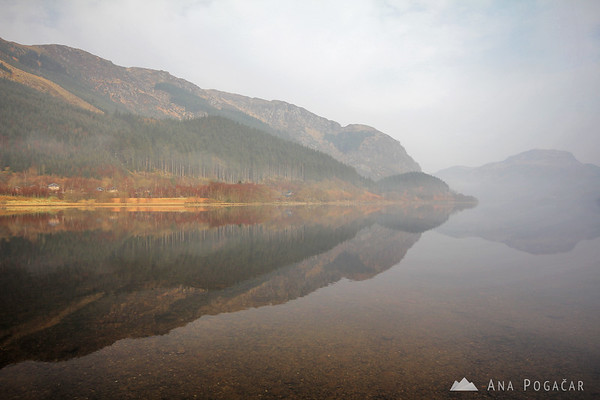 Loch Lubnaig in the morning