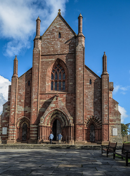 Cathedral of St. Magnus, Kirkwall - was founded in 1137 by the Vikings.