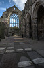 Abbey ruins at Palace of Holyrood,