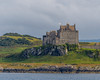Duart Castle - ancestral home of the Clan Maclean, taken from the ferry to Mull