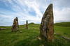 Standing Stones at Glengorm Castle