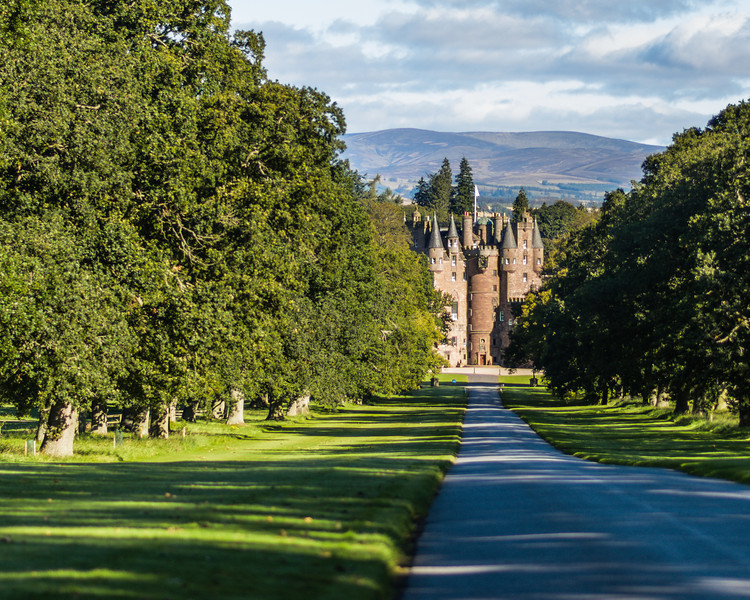 Glamis Castle - ancestral home of the Earls of Strathmore for over 600 years