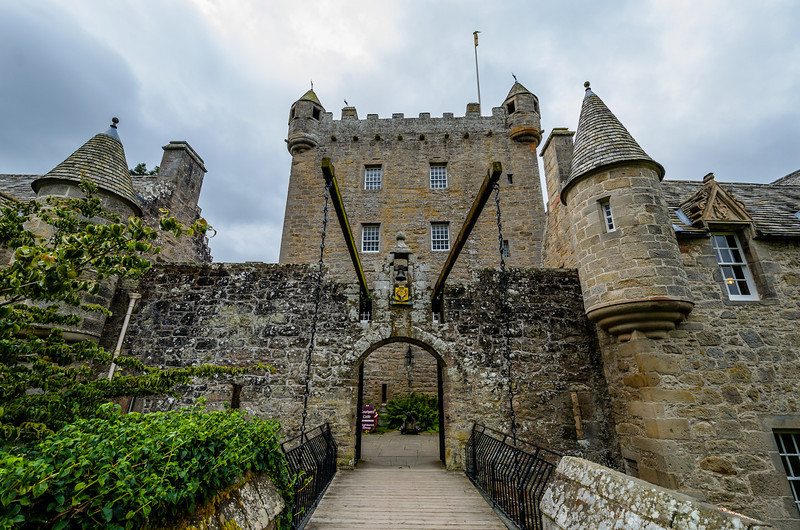 Cawdor Castle drawbridge