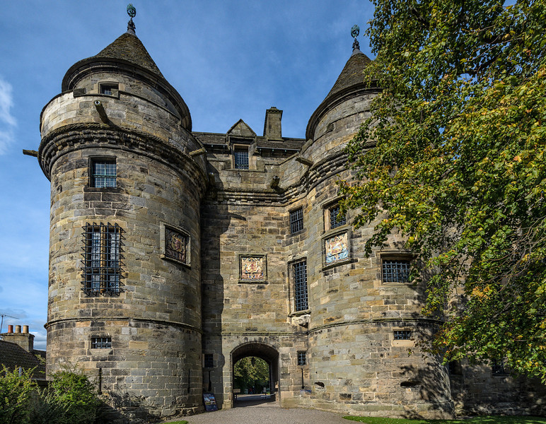 Falkland Palace - Stuart country residence for 200 years and a favourite place of Mary, Queen of Scots.