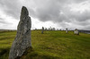 Callanish Standing Stones, the most famous of the many standing stone circles in the islands.