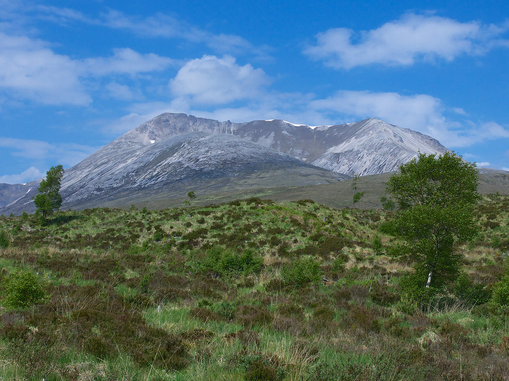 The next morning our route to Skye took us past the Torridon Mountains, a popular hiking destination
