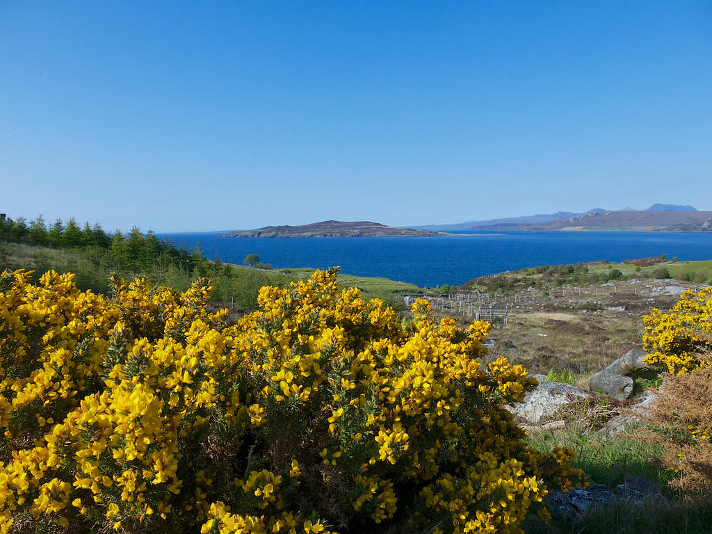 Gruinard Island where the British conducted anthrax experiments during world war II