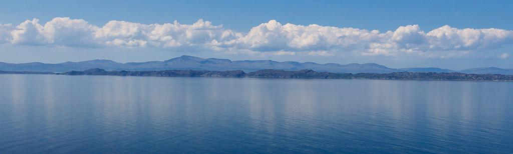 Isle of Skye as seen from the Applecross peninsula