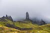 Moody Old Man of Storr, Isle of Skye