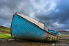 An old boat in Carbost, Isle of Skye