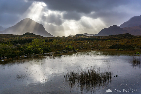Dramatic skies at Sligachan, Isle of Skye