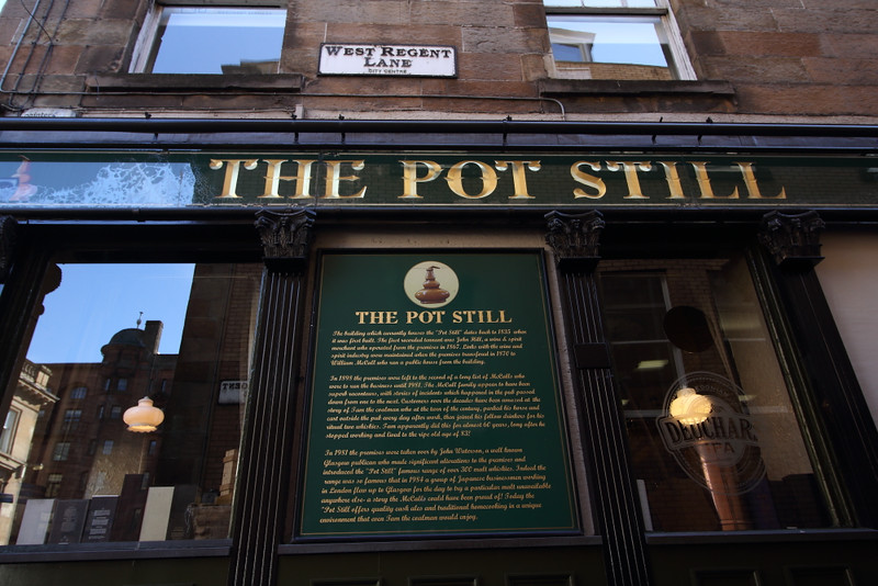 The Pot Still.  Over 600 Scotch Whiskies on hand.