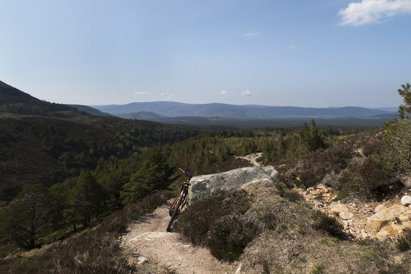 To Aviemore and beyond. Cairngorms.
