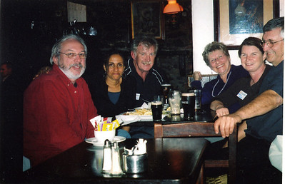 Bunratty brew.  Bill, Deborah, John, Pat, Evelyn, Don