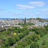 View of Edinburgh and the Firth of Forth from Edinburgh Castle.<br /> May 26, 2015