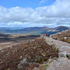 Beginning our first walk in Cairngorm National Park on May 28, 2015 in lovely, cool weather.