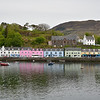 Portree Harbor on the Isle of Skye.  Our B&B was The Pink House.