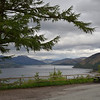 View across Loch Carron from the A890,  1 June 2015.
