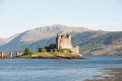 The Eilean Donan Castle. Just before we crossed the bridge over to the Isle of Skye.