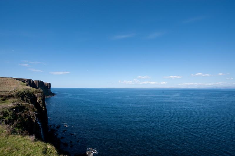 Kilt Rock on the Isle of Skye.