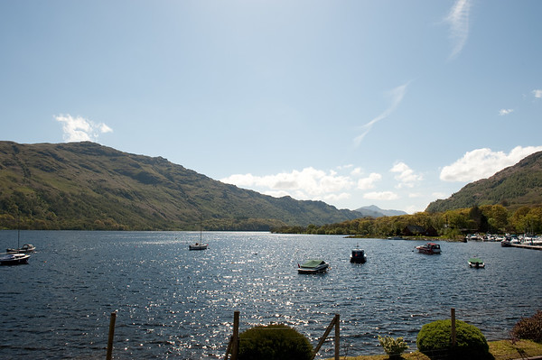 The northern end of Loch Lomond.