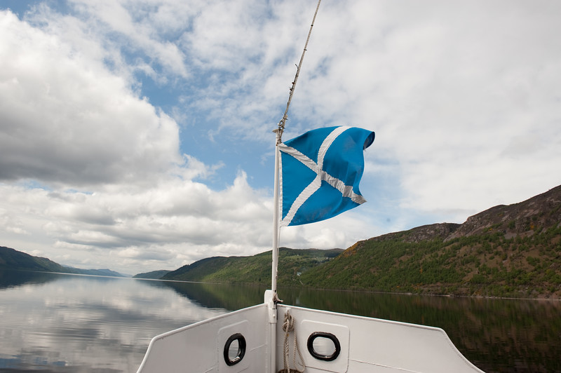 "Loch Ness widens but still no sightings of ""Nessie""."