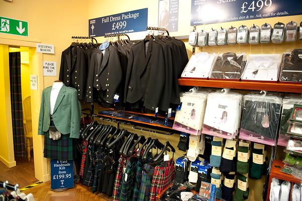 Formal wear:  Scottish style : )