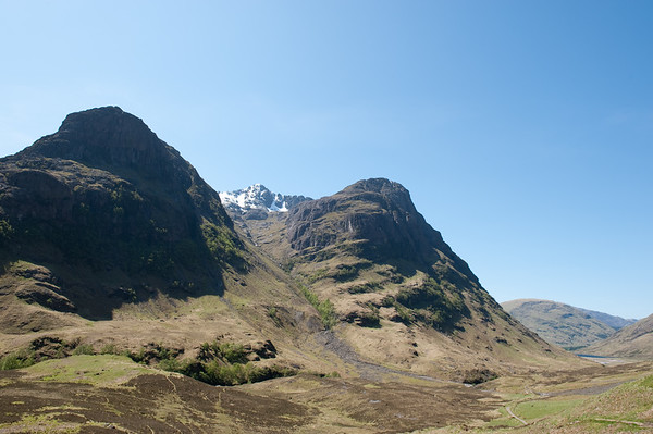 Our view as we travelled the North West Highlands.
