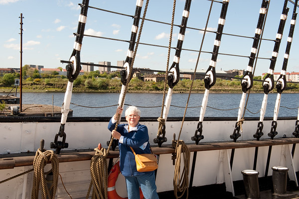 Glasgow - on the Tall Ship