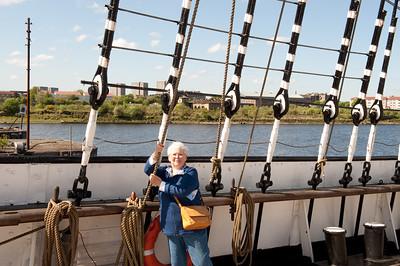Glasgow - on the Tall Ship