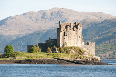 The Eilean Donan Castle It has been fully restored and is wonderful!