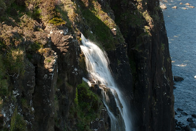 Waterfall by Kilt Rock on the Isle of Skye.