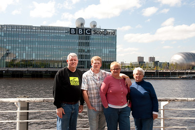 Glasgow: along the River Clyde
